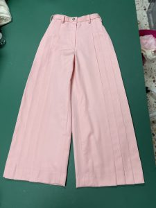 COuturier_ty,PLeated wide Pants, プリーツワイドパンツ,